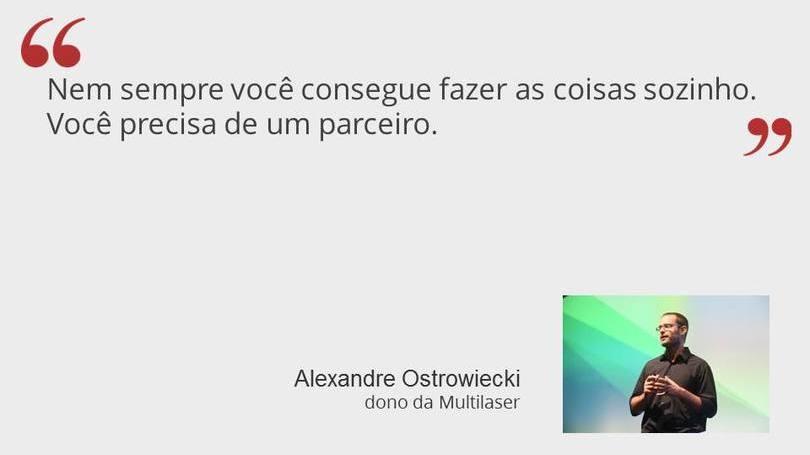Alexandre Ostrowiecki - Dono da Multilaser