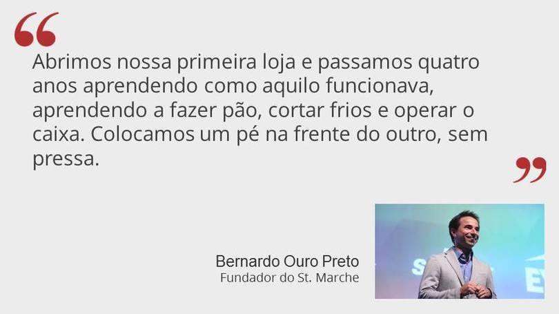 Bernardo Ouro Preto - Fundador do St Marche