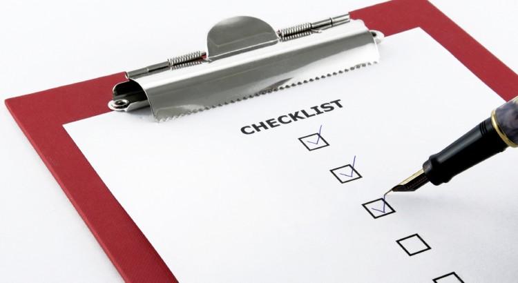 Checklist Franquia