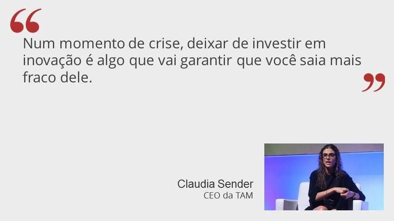 Claudia Sender da TAM
