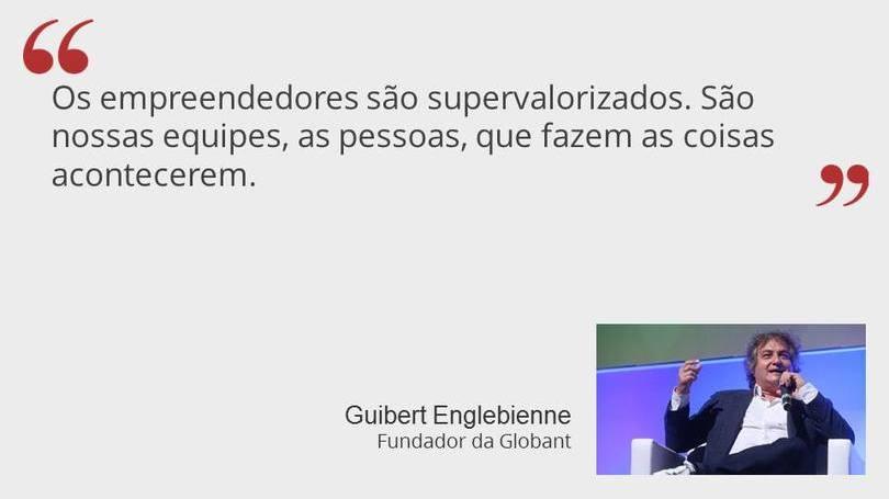 Guibert Englebienne - Fundador da Globant