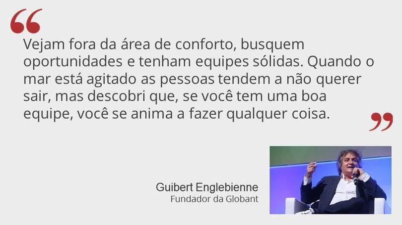 Guibert Englebienne Fundador da Globant