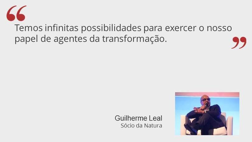 Guilherme Leal - Sócio da Natura