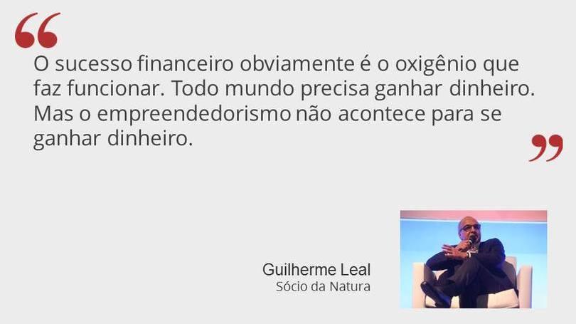 Guilherme Leal Sócio da Natura