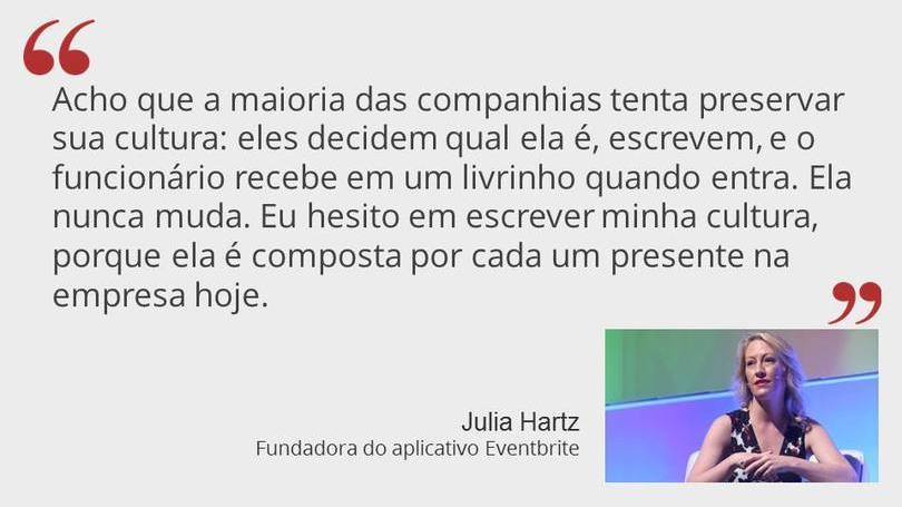 Julia Hartz - Fundadora do App Eventbrite