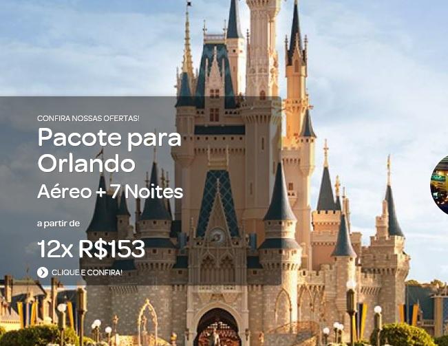 Pacote para Orlando - Viagens Relaxantes e Submarino Viagens