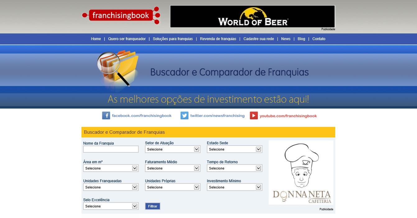 Portal de Franquias Franchisingbook