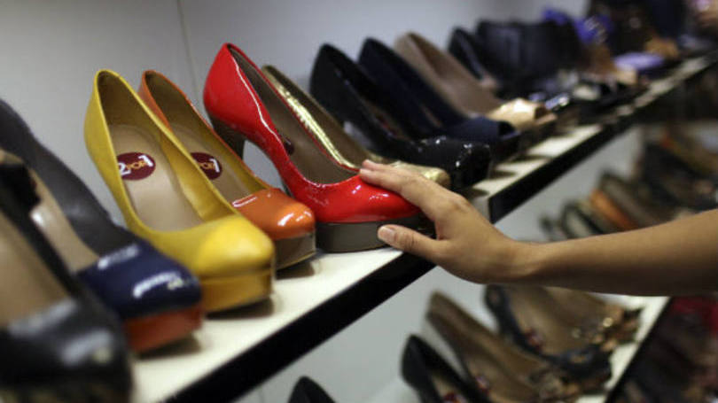 Acessórios pessoais e calçados