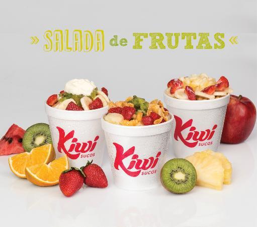 Kiwi Salada de Frutas